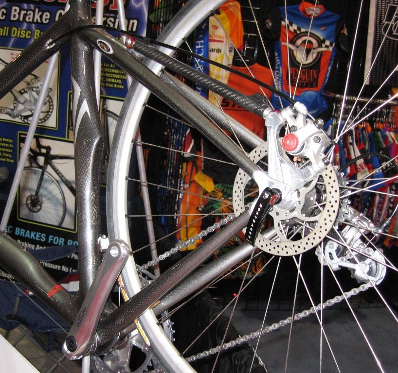 how to add disc brakes to old bike